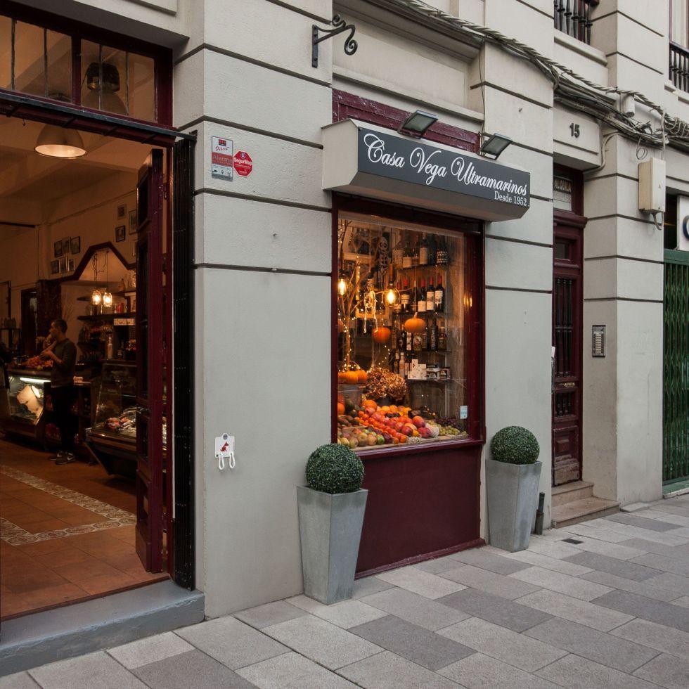 Tienda de ultramarinos Casa Vega Coruña
