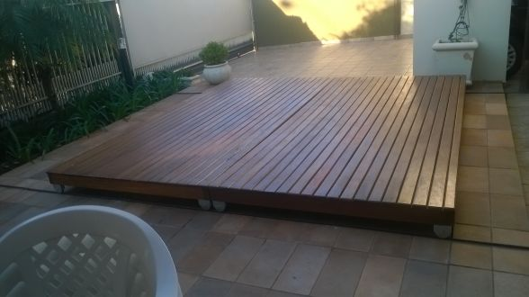 Casa Velha Decorao  Deck para cobrir a piscina
