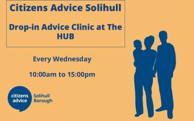 Citizens Advice Solihull – Advice Clinic