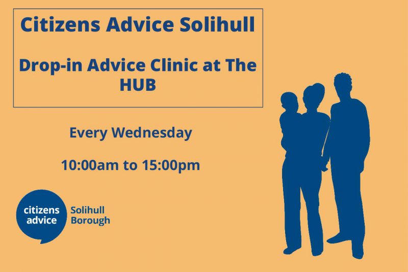 Citizens Advice Solihull – Drop-in Advice Clinic