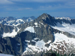Mount Buckner and Boston Glacier