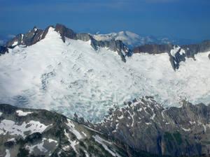 Middle part of Boston Glacier