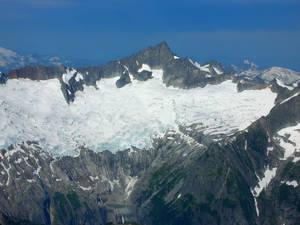 Boston Glacier and Forbidden Peak