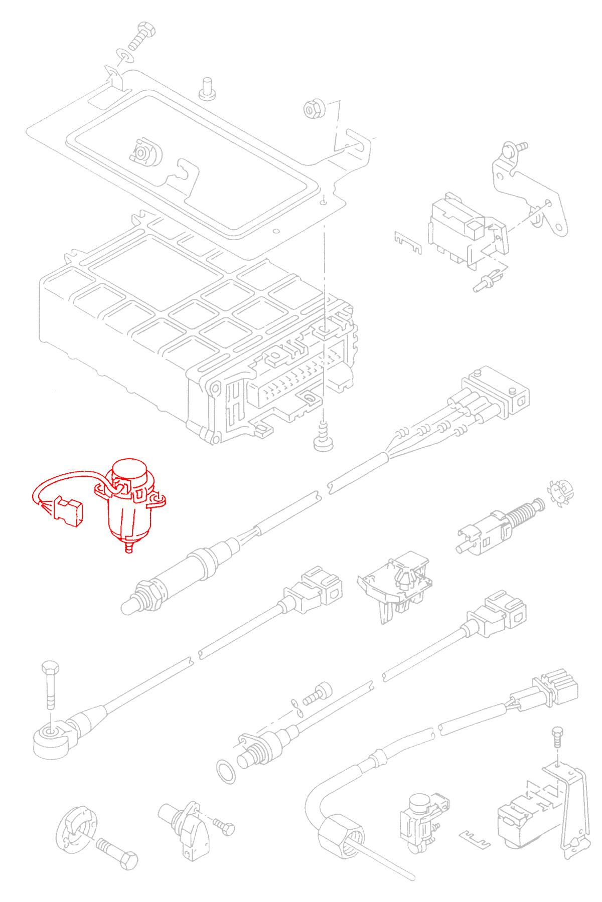 Throttle Position Sensor Mk3 B4 Cascade German Parts