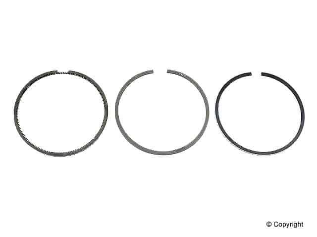 Piston Rings Set, 1.9L TDI Standard B4 Mk3 Mk4