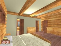Log Home Floor Plans 1500 2400 sq ft - Cascade Handcrafted ...