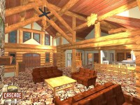 Log Home Floor Plans 3000 5000 sq ft - Cascade Handcrafted ...