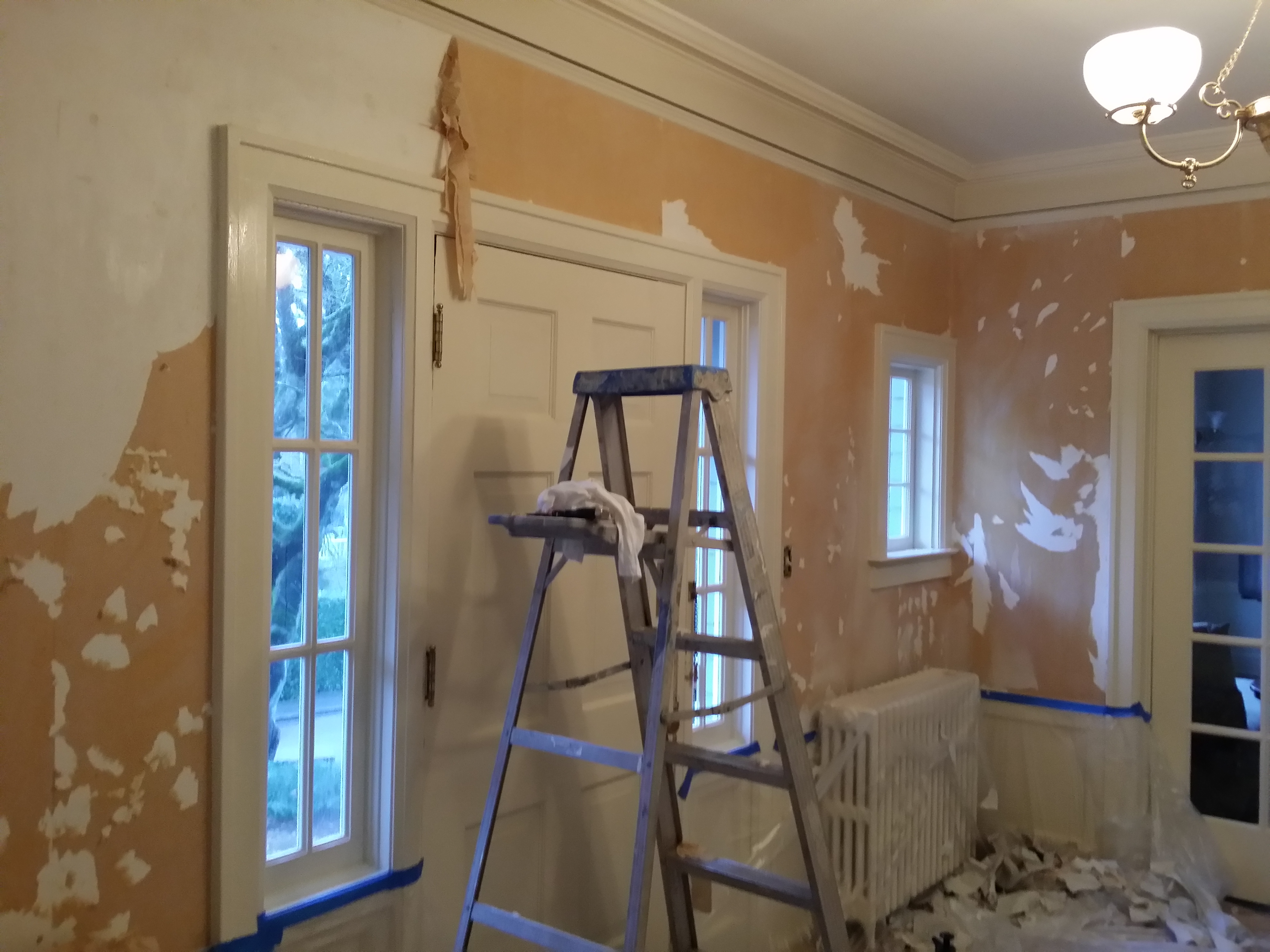 Wallpaper Removal Portland Painting Contractors Portland House Painters Cascade Painting And Restoration Cascade Painting Restoration