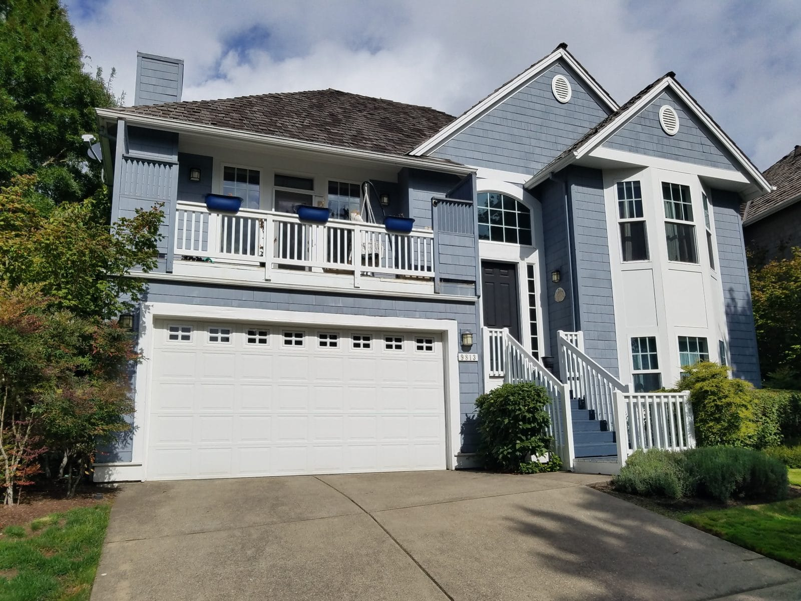 Exterior Painting Portland Oregon Cascade Painting And