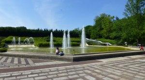 Memorial Plaza Fountain