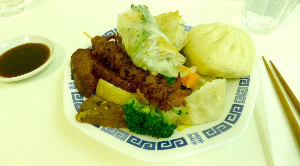 Lunch at Loving Hut