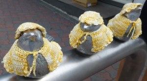 Birds at Enoshima Station
