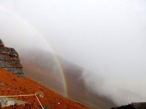 Mt Fuji Rainbow