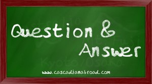 Cascadian Abroad Question and Answer