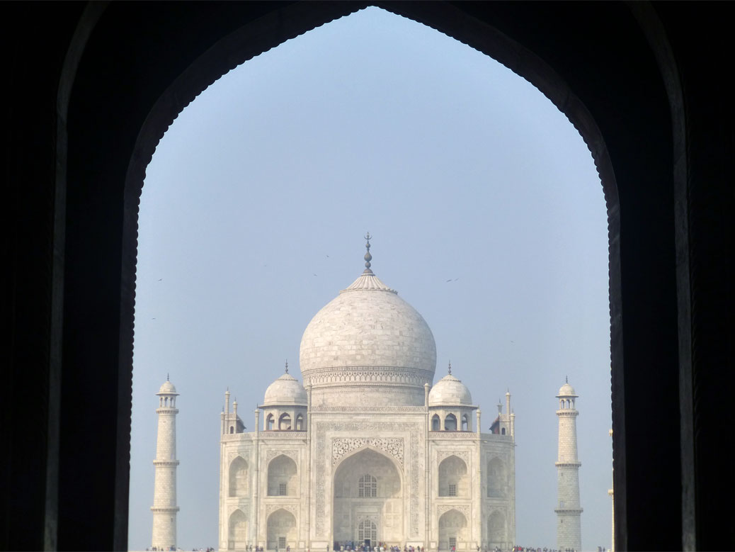 Taj Mahal - First Look
