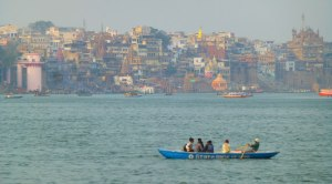 Varanasi, India from the Ganges River