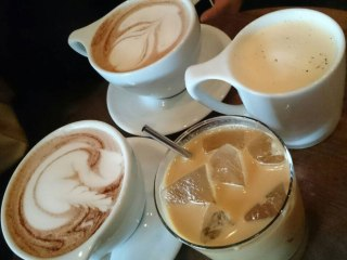 Drinks from Archive Coffee & Bar in Salem