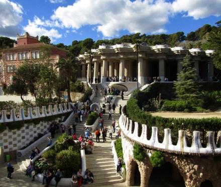 The magic kingdom inside Park Güell.