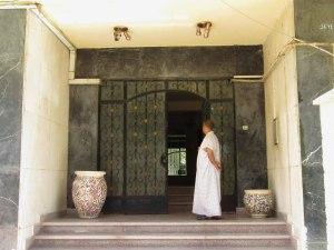 The front door of House 2