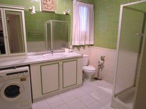 The bathroom in House 3