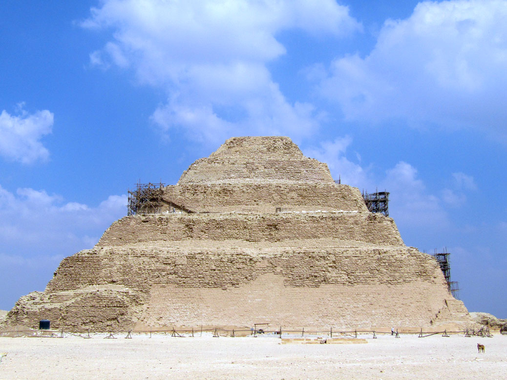 The step Pyramid of Djoser