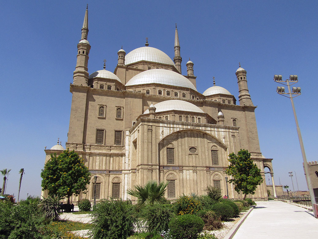 The Mosque of Muhammad Ali at the Citadel of Cairo.