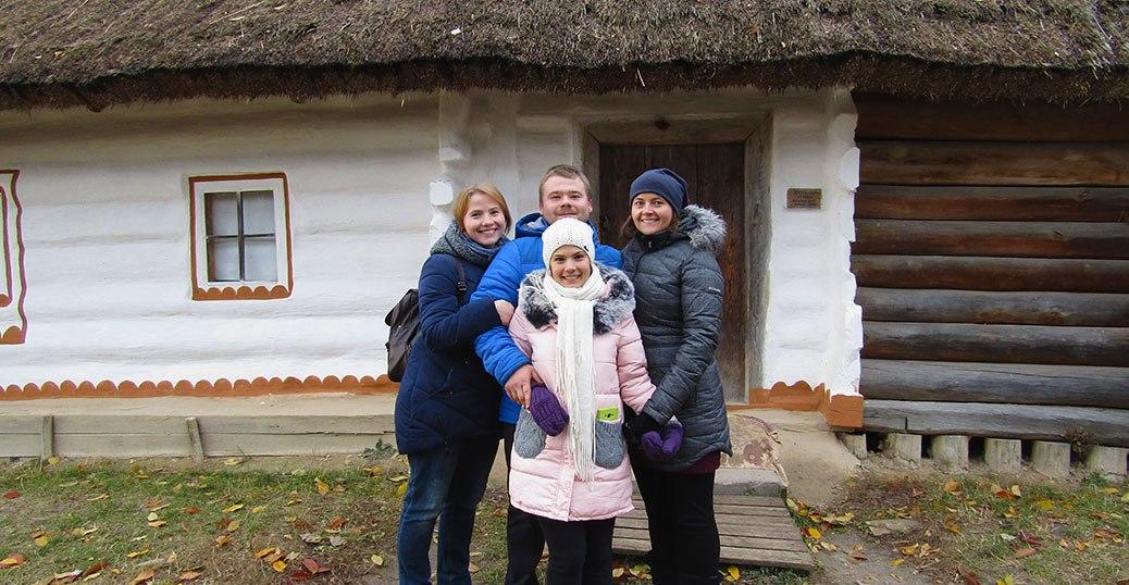 Pirogovo Open Air Museum in Ukraine
