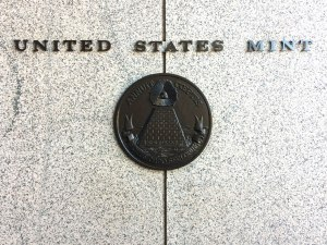 """Outside the United States Mint. Photos aren't allowed inside the largest of the Mint's four coin-producing facilities. If your coin has a """"P"""" or no letter, it was produced in this building!"""