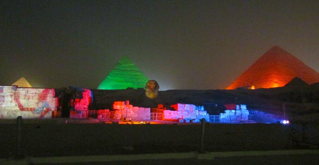 Great Pyramids Sound and Light Show