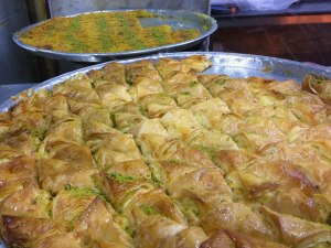 Opened in 1951, you'll recognize the small Kunafa shop known as by Habibah by the not-so-small lines.