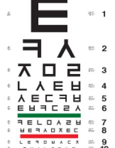 Korean eye chart also charts rh cascadilla