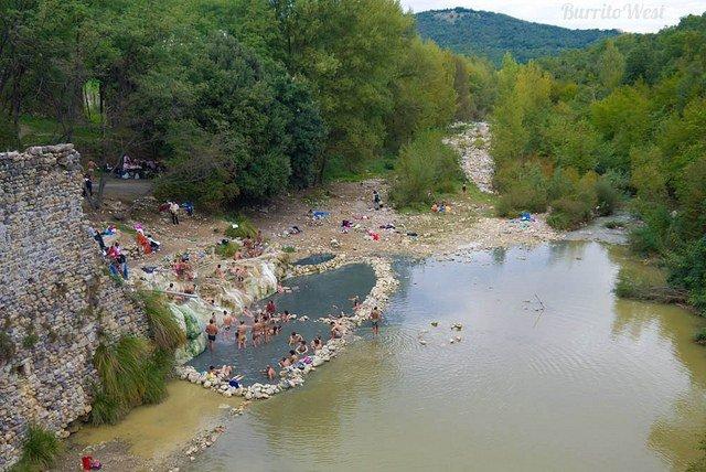 Terme Libere del Petriolo Piscine Termali Libere in Toscana