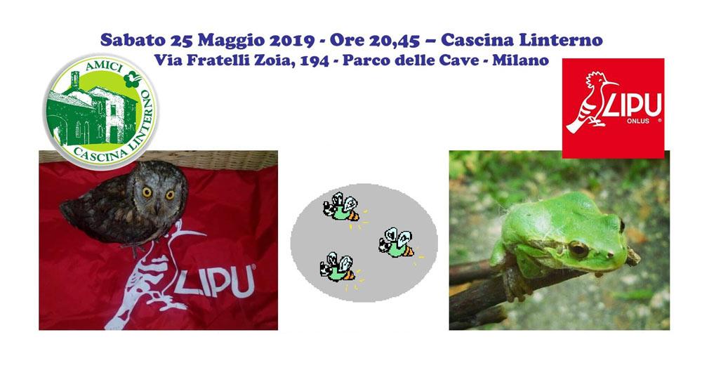 """25 maggio: """"Il Parco delle Cave – Natura e Biodiversità – LIPU Milano alla Lusiroeula 2019″"""