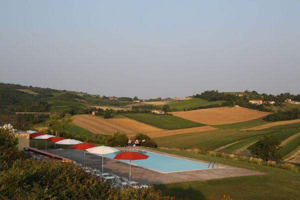 Hotel con piscina in Piemonte a Moncalvo