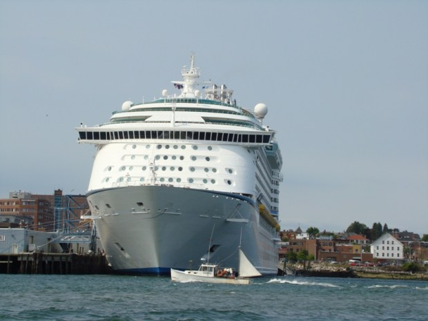 Cruise ship pollution campaign