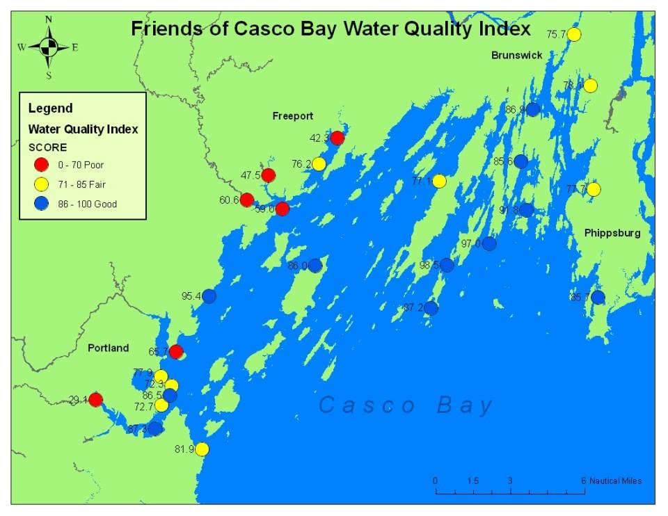 Bay's environmental report card