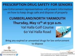 Cumberland and North Yarmouth Rx Safety For Seniors 2016