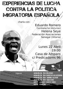Experiencias de Lucha Contra la Política Migratoria Española