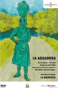 La Aguadora del parque San Pablo. Zaragoza