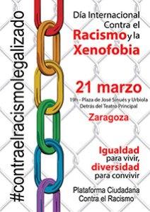 Materiales de difusión 2014 para el día internacional contra el racismo y la xenofobia Zaragoza