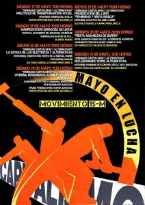 Mayo en Lucha. Aniversario 15M Zaragoza 2014