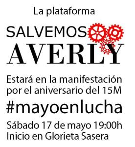 Salvemos Averly en #mayoenlucha