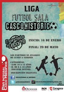 Liga de fútbol sala del Casco Histórico Zaragoza