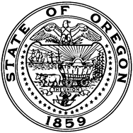 Alan Bates Oregon Seal