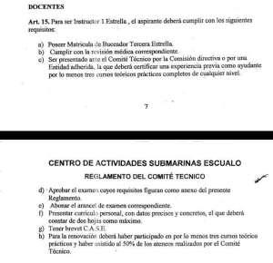 CONVOCATORIA A EXAMEN DE OPOSICION PARA CATEGORIAS DOCENTES DEL C.A.S.E. 5