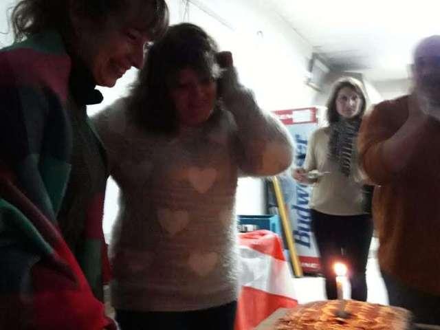 Viernes de actividad social en el club
