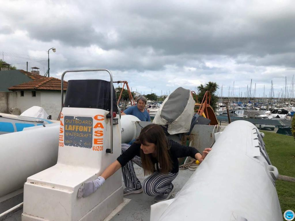 Mantenimiento de embarcaciones y práctica de Navegación 2