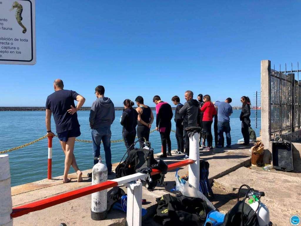 Bautismos de buceo de los Cursos Mar del Plata y Necochea 9