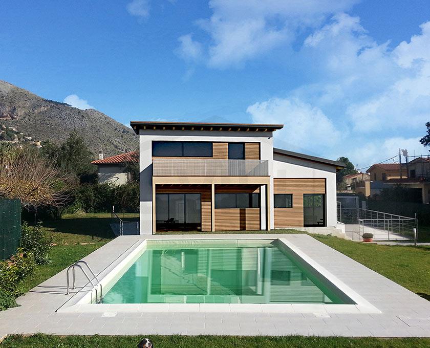 Olympia  Progetto casa in bioedilizia  Case prefabbricate in legno