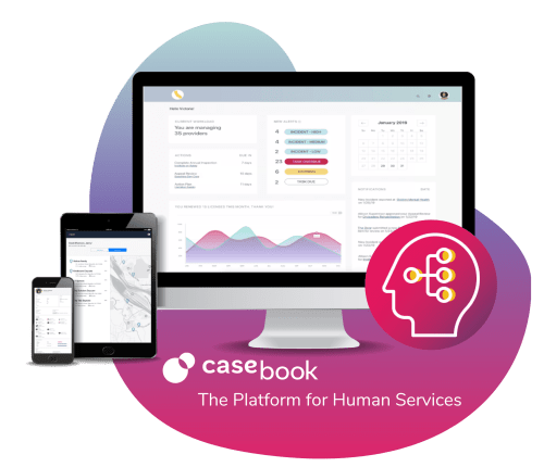 Casebook is the platform for human services - a cloud-based software solution